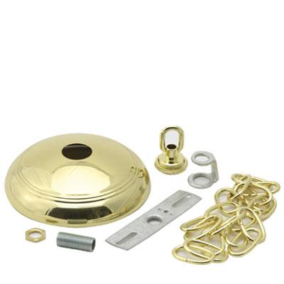 POLISHED BRASS CHANDELIER CANOPY KIT  sc 1 st  ES Lighting & POLISHED BRASS CHANDELIER CANOPY KIT : 31RX7 | ES Lighting