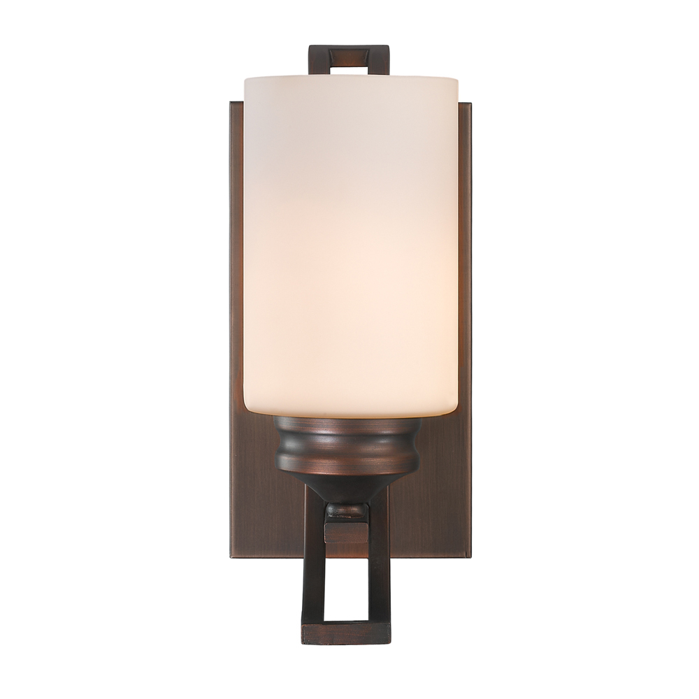 ES Lighting in Lawrence, Kansas, United States,  7AR8, 1 Light Bath Vanity, Hidalgo OP