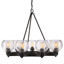 Golden 4855-9 RBZ-SD - 9 Light Chandelier