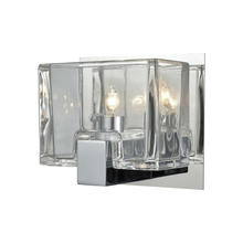 ELK Lighting 11960/1 - Ridgecrest 1 Light Vanity In Polished Chrome Wit
